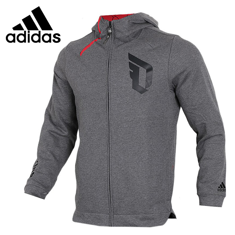 Original New Arrival 2018 Adidas DAME CNY FZ HDY Men's jacket Hooded Sportswear цена