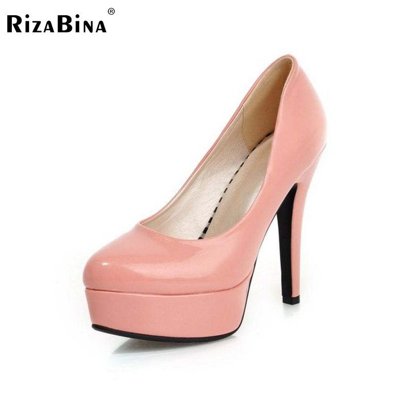 women stiletto high heel shoes lady pointed toe quality footwear  platform fashion heeled pumps heels shoes size 31-43 P17188 new hollow pointed stiletto elegant spring summer women pumps sweet bowknot high heeled shoes thin pink high heel shoes k88