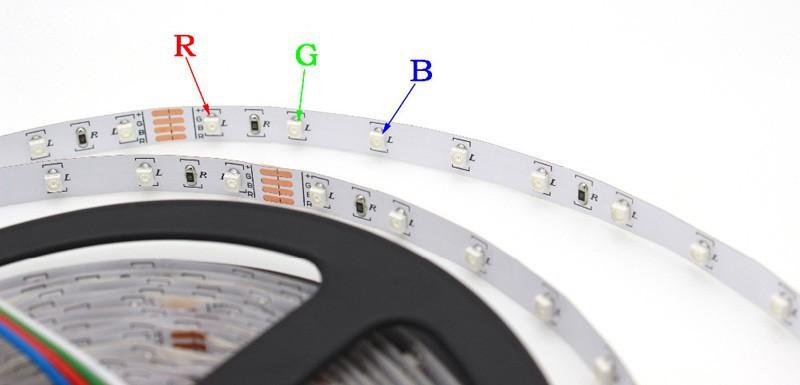 5m 300 LED 3528 SMD 12V flexible light 60 ledm LED strip whitewarm whitebluegreenredyellowRGB colors Free shipping (7)
