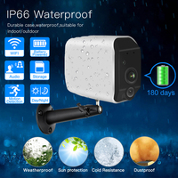ZGWANG 960P Battery Camera Waterproof Outdoor Outdoor Security IP Camera Wireless WIFI Camera Surveillance Two Way Audio Camera