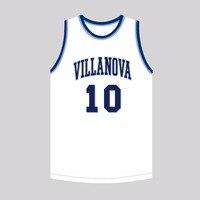 MM MASMIG Donte Divincenzo 10 Villanova Basketball Jersey Stitched White