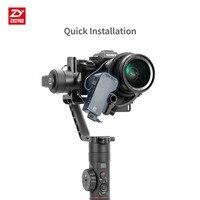 Zhiyun Чжи Юн серво механический Следуйте Фокус для всех камер кран 2, gimbal дистанционного Управление с движения Сенсор следовать fucos