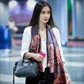 [Visual Axles] 180x90 New Fashion Women Pure Silk Scarf Digital Print Luxury Brand Oblong Soft Foulard Silk Scarves Shawls