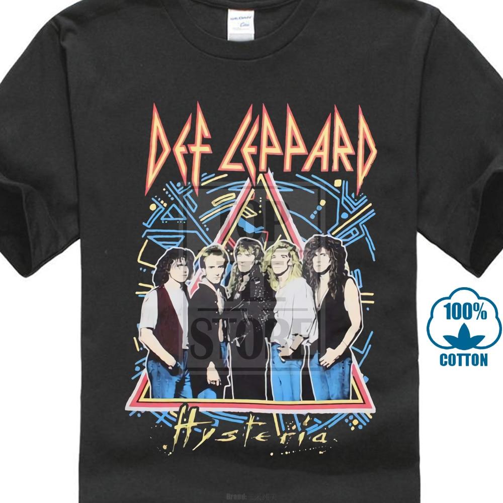 Def Leppard Hysteria Band T Shirt S M L Xl 2Xl Brand New