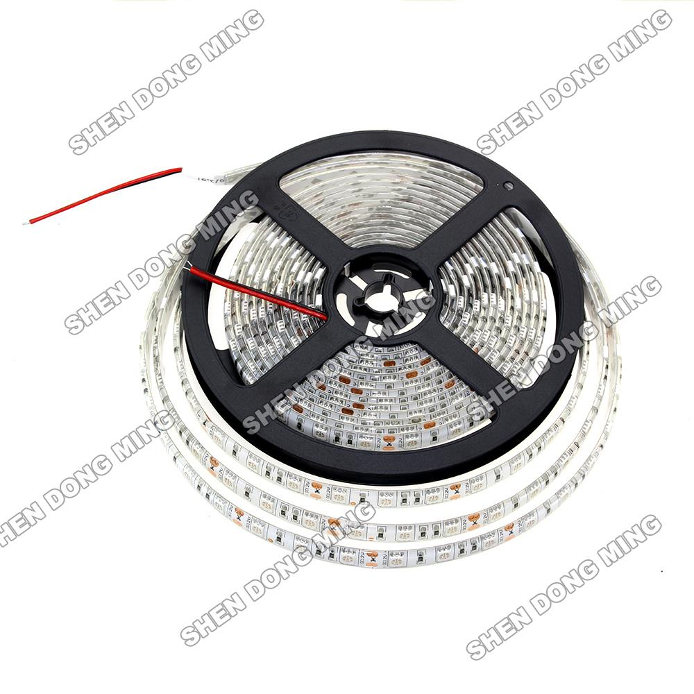 Outdoor 12 Volt 60leds Meter Led Strip Smd 5050 Rgb: SMD 5050 5m RGB IP65 Waterproof 12V Flexible Led Strip