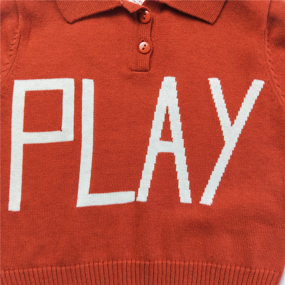 Lashojas Red Letter Play Polo Shirt For Baby Kids Boys S 1 7 On Aliexpress Alibaba Group