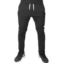 Hot2018 Outdoor Spring Autumn hip hop elastic waist Drawstring cheap slim joggers harem men track pants running sweatpants