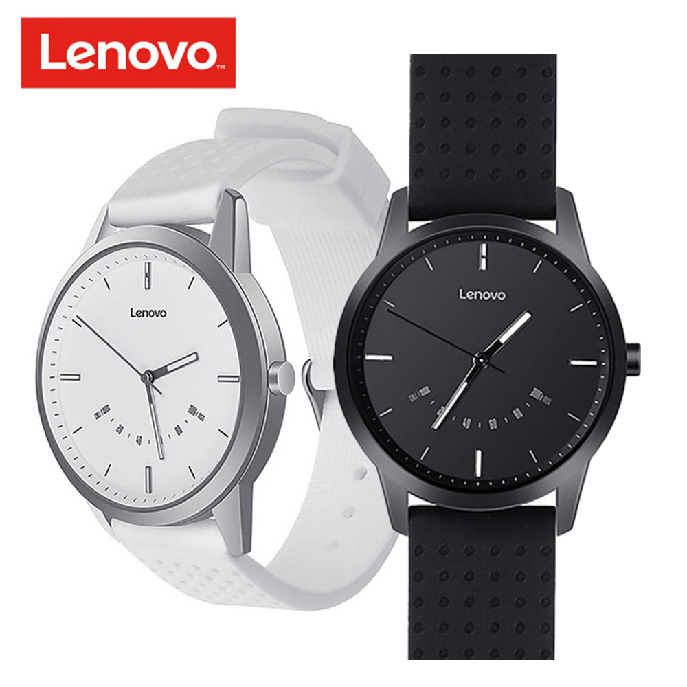 Lenovo Watch 9 Smart Watch 5ATM Waterproof Bluetooth Smartwatch Heart Rate Monitor Fitness Tracker Call Reminder for iOS Android