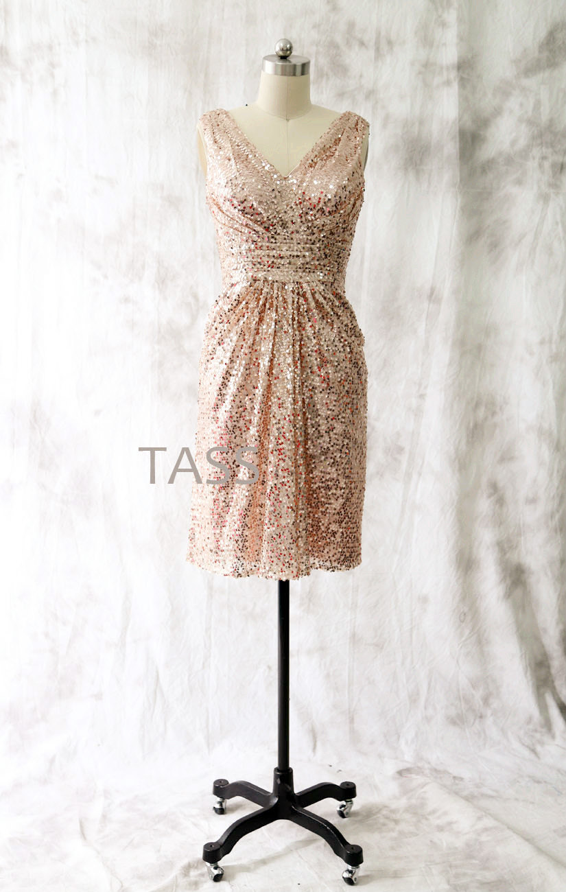 Aliexpress.com : Buy Sparkly Wedding Party Dresses 2017 Rose ...