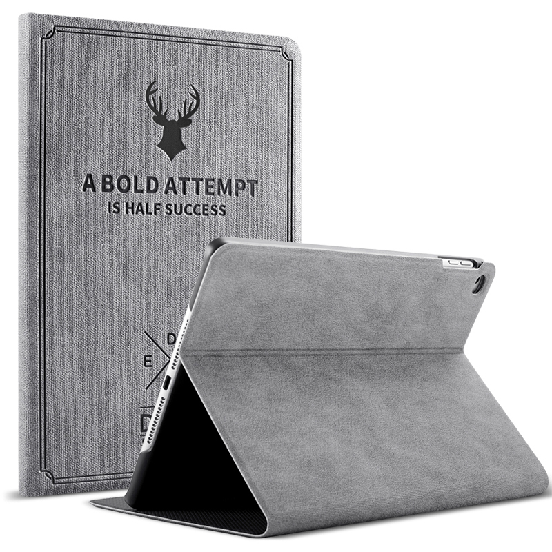 Case for iPad 2 3 4 Ultra Slim Retro Magnetic Flip Stand PU Leather Smart Cover Funda