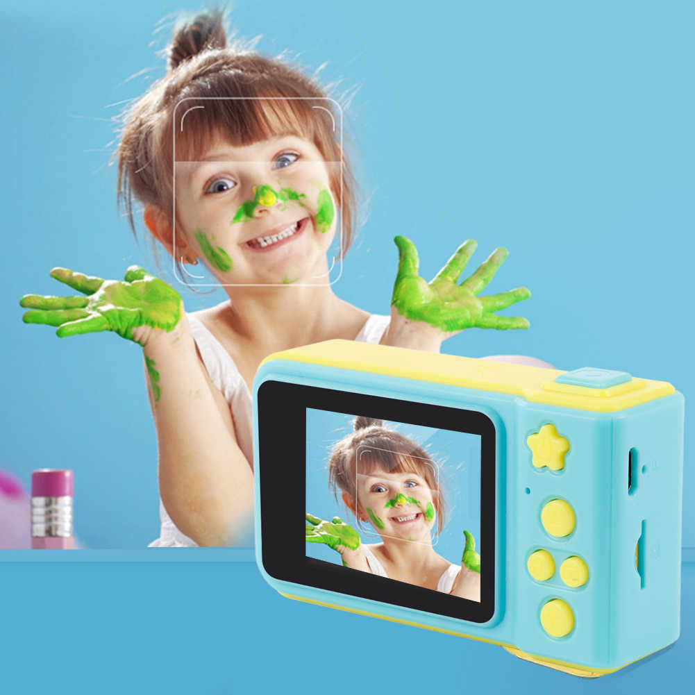 2019 Brand New Children Mini Camera 2.0 Inch Take Picture Digital Camera 1080P HD Kids Video Recorder Camcorder Outdoor Cute Hot