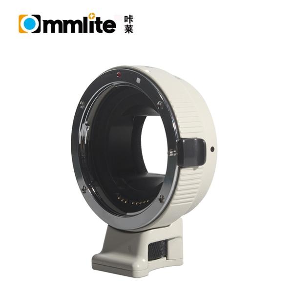 Commlite Adapter Auto Focus CM-EF-NEX W for Canon EF Lens to Sony E Mount Camera viltrox ef nex iii auto focus lens adapter for canon eos ef ef s lens to sony e nex full frame a7 a7r a7sii a6300 a6000 nex 7