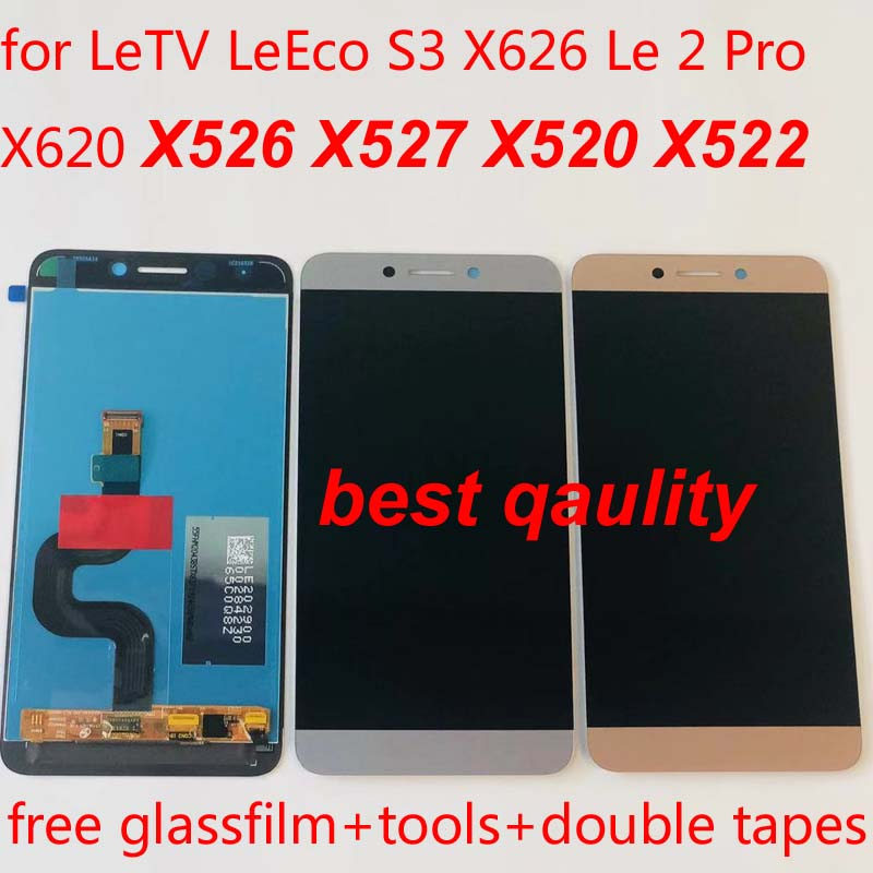 5 5'' IPS Original For LeTV Leeco Le 2 LCD Display Touch Screen Digitizer  X527 X520 X522 X620 Leeco Le S3 X626 LCD Replacement