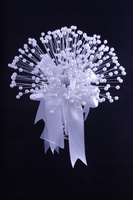 HOT SALE!!! 6 X Beautiful Bridal Pearl Bouquet in White Wedding Flowers For Wedding Decoration ( Free Shipping By EMS)