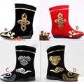 Botas para hombre de baile rojo de baile negro botas botas de baile chino antiguo warrior botas zapatos nacional chino