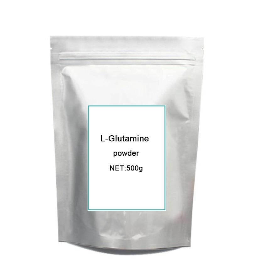 500g muscle growth supplement l-glutamine l glutamine 99% sports supplement Pure Muscle Bodybuilding l glutamine