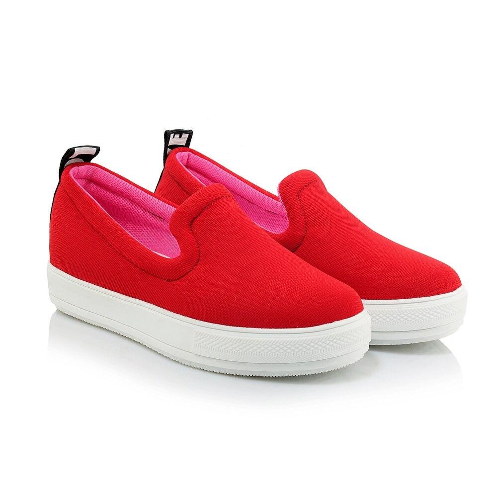 Hohe red Sommer Slides Komfortable Casual Jahreszeiten Mode Frau Espadrilles black Kmeioo Neue Qualit Wohnungen white Gray Damen Schuhe Faulenzer Frauen 8wx6q1z