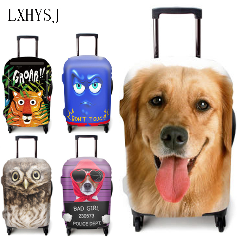 Fashion Luggage Case Elastic Luggage Protective Covers Suitable For 18 To 32 Inch Suitcase Case Dust Cover Travel Accessories