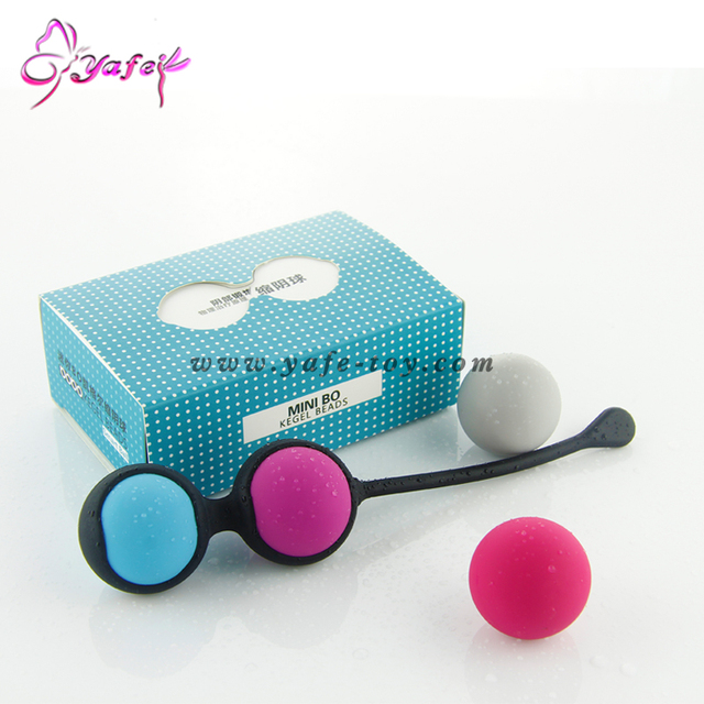 Silicone Kegel Balls solid Smart Love Ball for Vaginal Tight