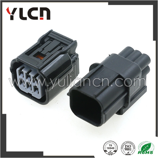 Free shipping Sumitomo 5 Sets 6 Pin male and female automotive electrical connector free shipping 5 sets lot upper