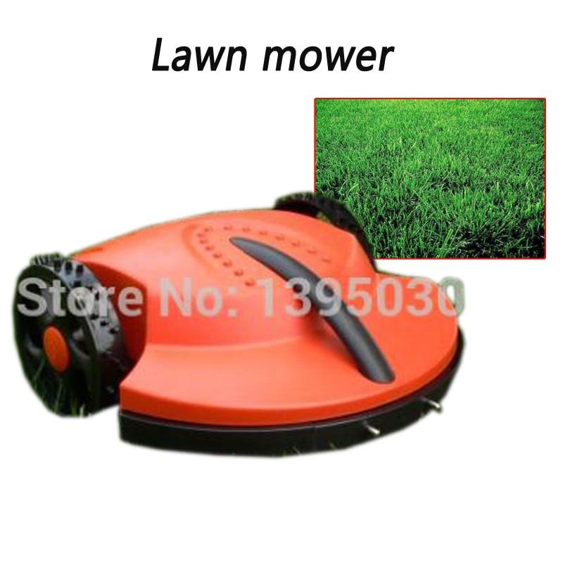 1Pc/Lot Intelligent lawn mower auto grass cutter, auto recharge, robot grass cutter garden tool цены