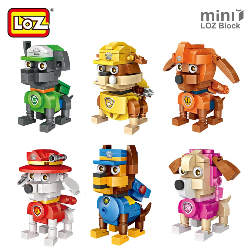 LOZ Mini Blocks Building Blocks Figures Toys for Kids Plastic Assembly Toys Educational DIY Dinosaur Eggs Bricks Car Dog Animal mr froger loz diamond block easter island world famous architecture diy plastic building bricks educational toys for children