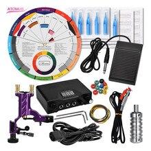 Rotary Tattoo Machine Kits Makeup Beginner Set Tatoo Professional Profissional Pen Kit