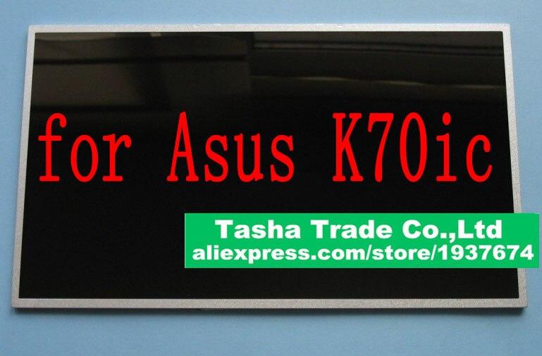 For Asus K70ic Screen B173RW01 V0 LED Display LCD Screen LVDS 40PIN 1600*900 HD+ Glossy b173rw01 v 3 b173rw01 v3 new 17 3 led wxga glossy hd lcd laptop screen lvds 40pin