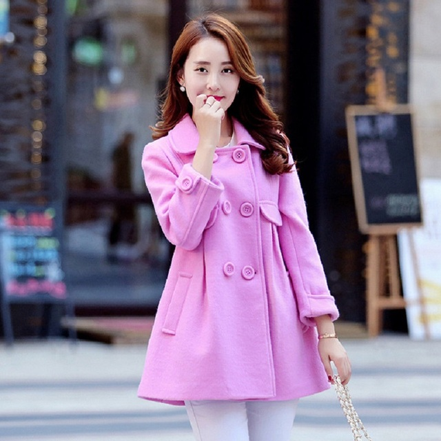 Autumn/ Spring Maternity jacket Maternity Clothing coat For Pregnant Women Maternity outerwear maternity wool blends clothes