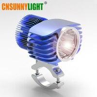 18W 2700Lm Motorcycles LED External/Internal Headlight Spot Lights w/CREE Chip XHP70 for Moto Cars Trucks DRL Fog Lamp Spotlight