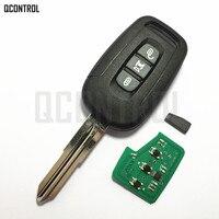 QCONTROL 3 Botões Carro Remoto Chave para CHEVROLET/OPEL/Captiva/Antara Auto Alarme De Controle 2006 2007 2008 2009 2010