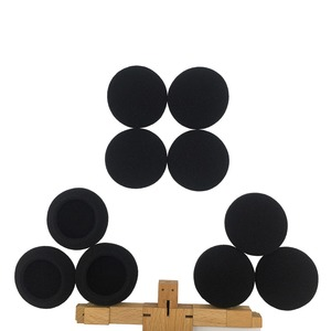 Image 5 - IMTTSTR 6 Pairs of Soft Foam Sponge Ear Tip Cover Replacement Earbud Covers for 35 40 45 50 55 60 65 70 80 mm Earphones Sleeve