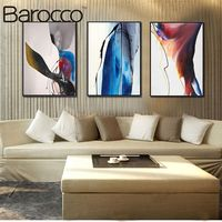 Frameless Canvas Painting By Numbers Abstract Style Modern Oil Painting Picture HD Printing On Canvas Home