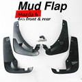 Free Shipping!!  Car-Styling Set of 4pcs Genuine Flat Splash Protector Guards Mud Flaps Mudflap For Mazda 6 Car-Covers