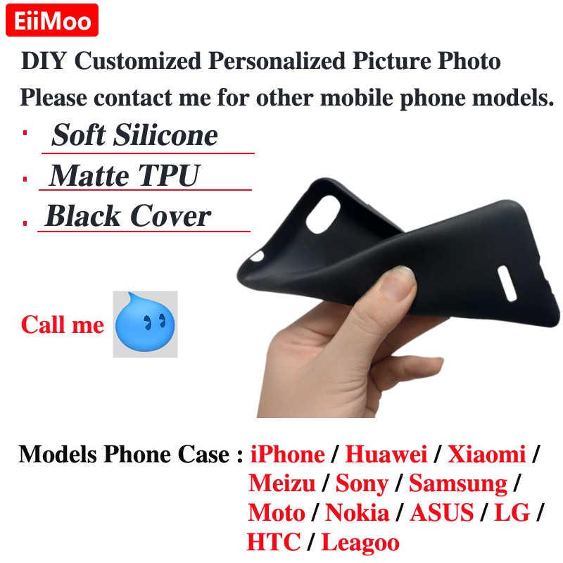 Eiimoo Photo Phone Case untuk Samsung Galaxy A9 A8 A7 A6 S9 S10 J2 Pro J4 J6 J8 Catatan 8 9 10 Ditambah 5G 2018 Cover Gambar 2019