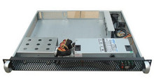 1U420 server chassis can hold ordinary PC board size motherboard IPC chassis for router