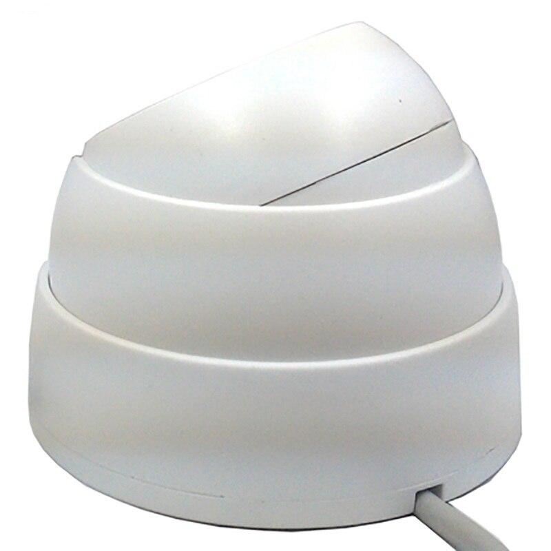 Hd 800tvl Мини Cctv Камера безопасности домашнего видео Камера Ночное видение ИК-Micro Купол аналоговый Cam 24 шт. Led light 3,6 мм объектив Кампа