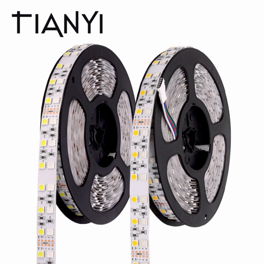 Led Strips Led Lighting Buy Cheap Rgb Led Strip Waterproof Dc 24v 5050 120leds/m Double Row Rgbw Rgbww Led Light Strip Flexible Neon Tape Luz Christmas Decoration Aromatic Character And Agreeable Taste