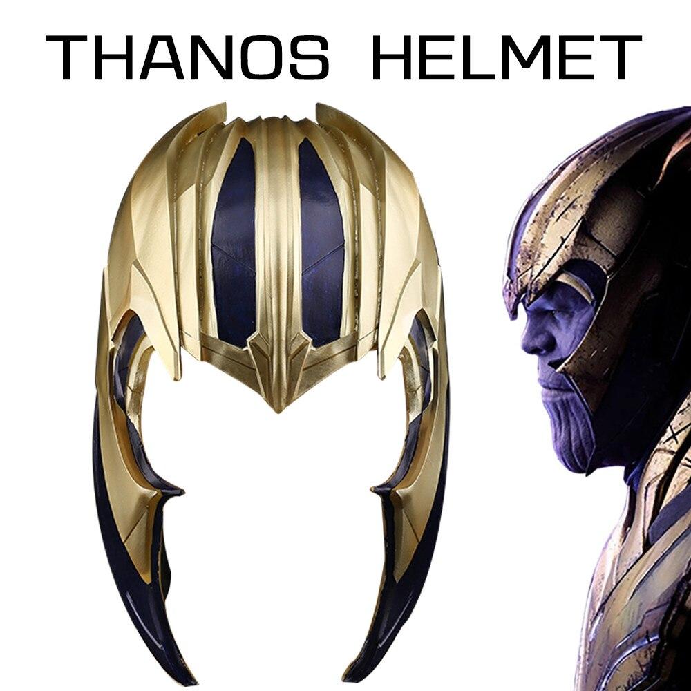 2019 Thanos masque nouveaux Avengers: Endgame Thanos Cosplay casque super-héros pleine tête PVC masque visage Halloween Cosplay accessoires vente en gros