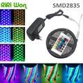 5M smd 3528 rgb led strip  waterproof  flexible fita de led 2835 tape ribbon lights for home