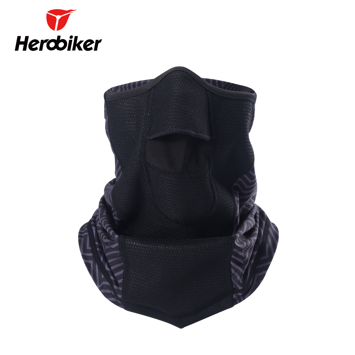 HEROBIKER Unisex Motorcycle Windproof Cool Camouflage Face Mask Black Motorcycle Helmet Mask Summer Bicicletas De Paseo