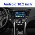 Quad Core Android 10.2 дюймов Dvd-плеер АВТОМОБИЛЯ gps-навигации ДЛЯ Hyundai соната 8 I40 I45 I50 YF 2011 2012 2013 2014 2015 радио