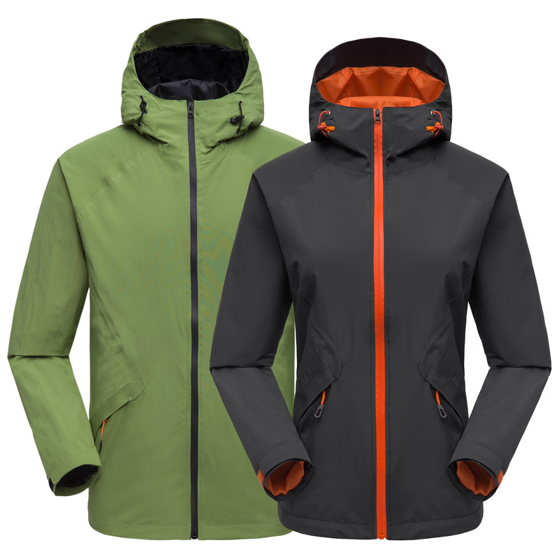 2019 New Men's Women's Soft shell Waterproof Quick Dry Jacket Windproof Thermal Outdoor Sports Breathable Hiking Climbing Jacket