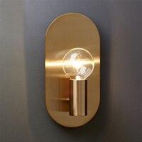 Дизайн Стекло светодио дный настенный светильник бра Современный Спальня Кухня лестницы Гостиная Настенные светильники Декор дома освеще