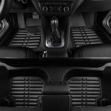 Автомобильные коврики для honda crv, автомобиль матовый черный бежевый серый коричневый