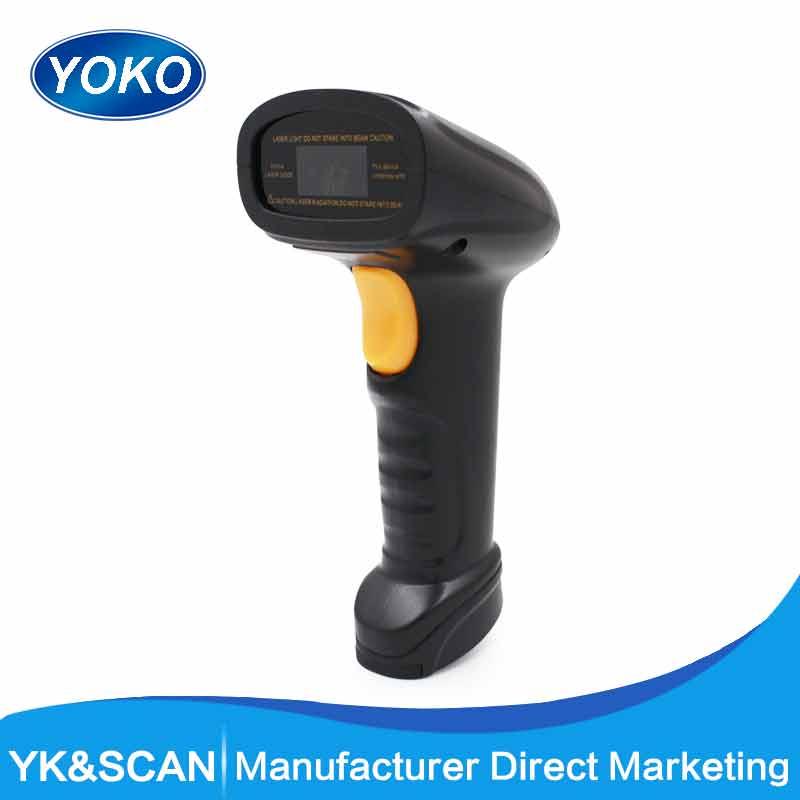Ручные одной линии 1D сканер штрихкодов YK-910 с интерфейсом USB для pos системный код лазерный сканер