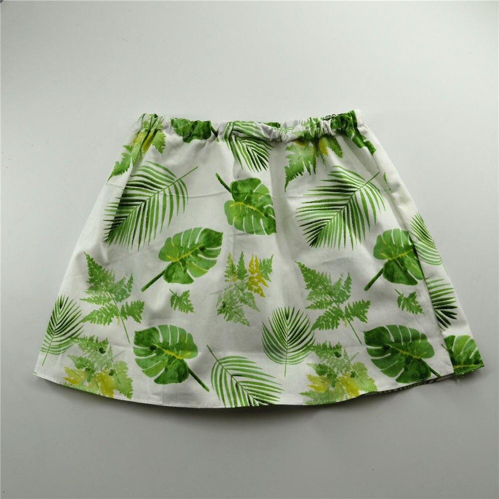 QYFLYXUE.Baby Skirt, Green Cotton Handmade Skirt, Birthday
