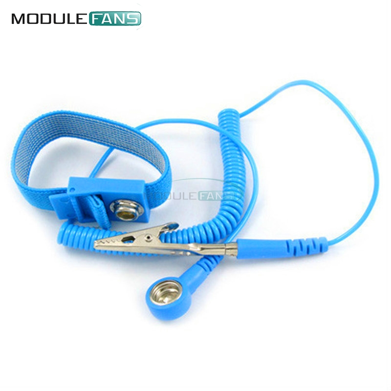 Power Tool Accessories Hand & Power Tool Accessories Cordless Wireless Clip Antistatic Anti Static Esd Wristband Wrist Strap Discharge Cables For Electrician Ic Plcc Worke