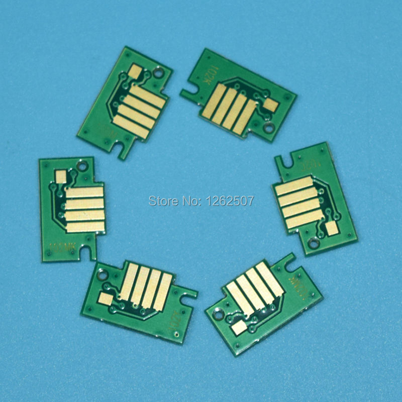 PFI102 toner chip for canon PFI 102 chip for canon IPF 500 600 700 510 605 610 710 large format inkjet printer cartridge chip