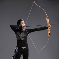 20 40lbs Hunting Shooting Bow Wooden Practice Recurve Bow Child Women Men Outdoor Hunting Take Down Bow Sports Game